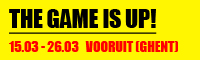 Vooruit: The Game is UP!